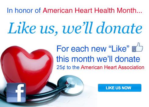 Like Us For Heart