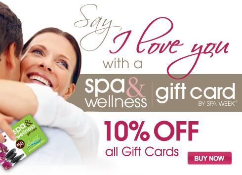 Spa Gift Card Sale