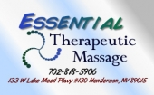 Essential Therapeutic Massage