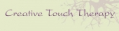 Creative Touch Therapy