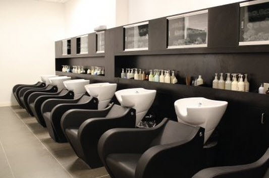 Modern salon spa birkdale village huntersville nc for Voilage salon moderne