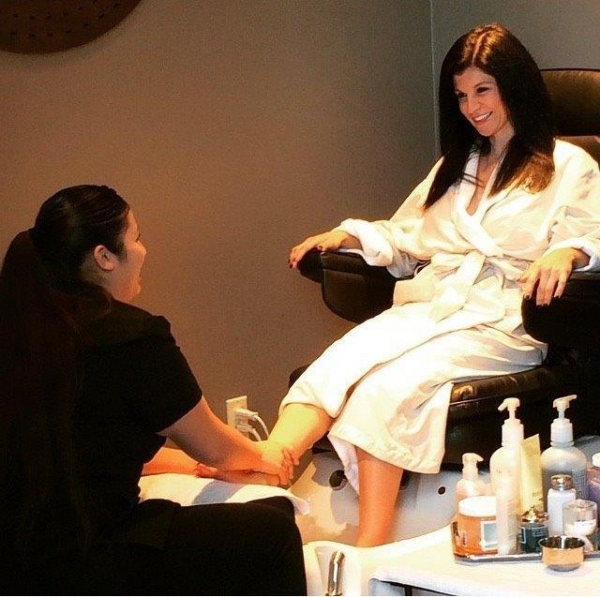 Amethyst Spa at Wekopa Resort & Conference Center pedicure