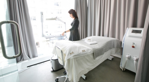 KUR Skin Lab Facial Room