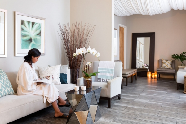 Hiatus Spa + Retreat- Dallas Waiting Area