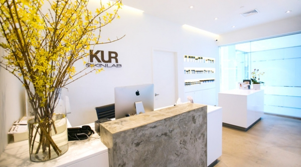 KUR Skin Lab front desk