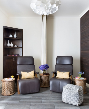 Hiatus Spa + Retreat- Dallas Lounge Area
